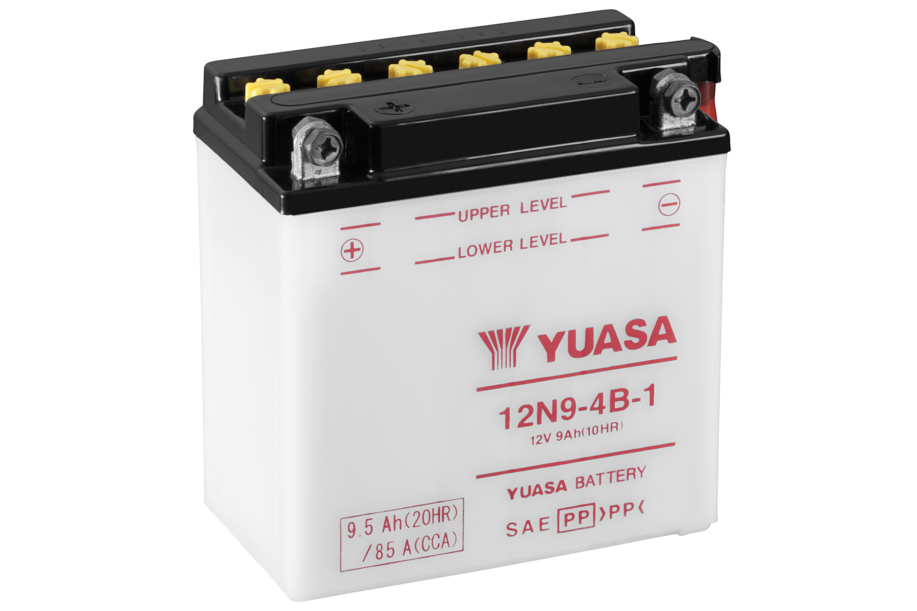 yuasa motorcycle battery 12n9 4b 1 12v 9ah from county battery. Black Bedroom Furniture Sets. Home Design Ideas