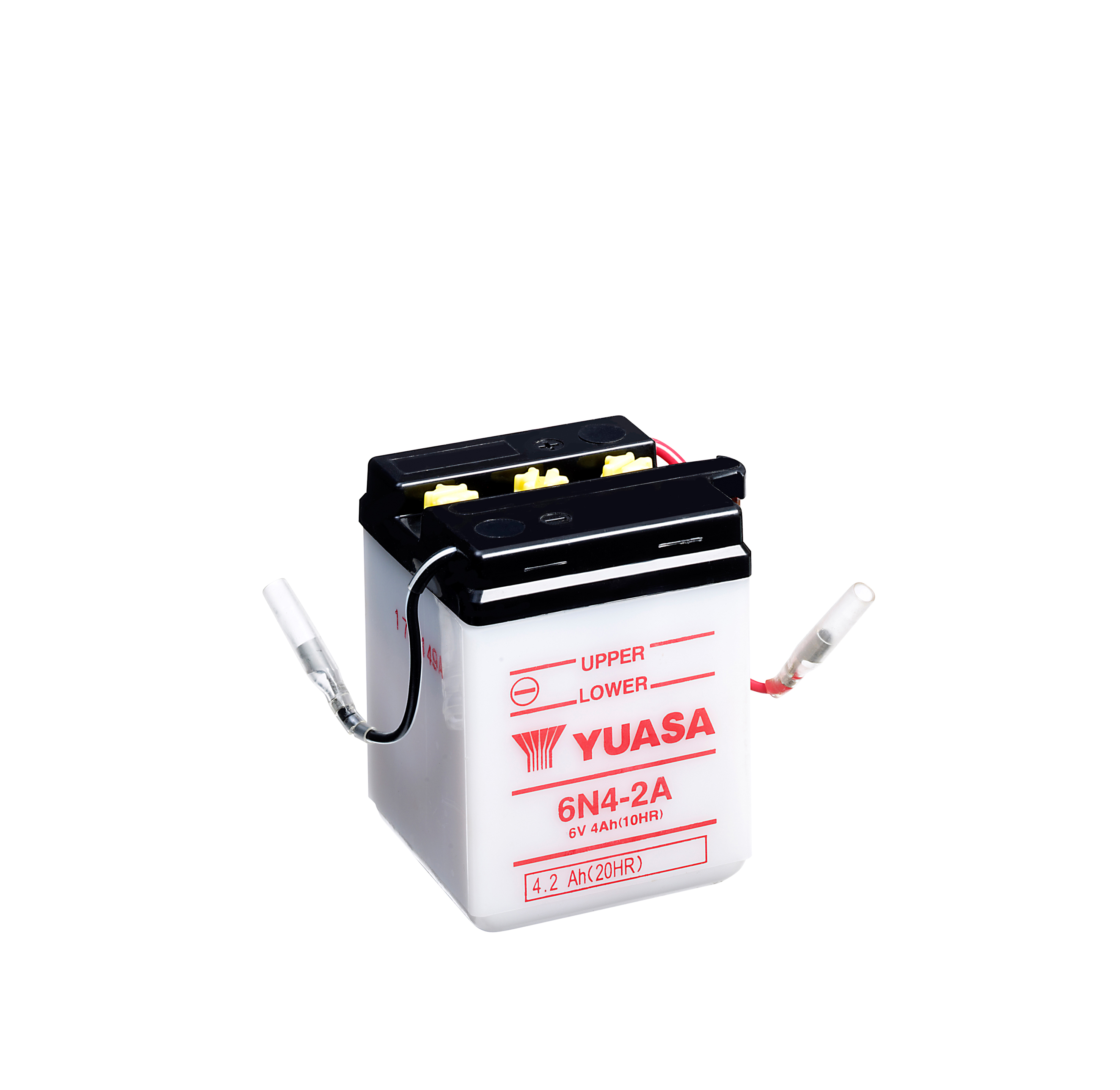 Yuasa Motorcycle Battery 6n4 2a 6v 4ah From County Battery