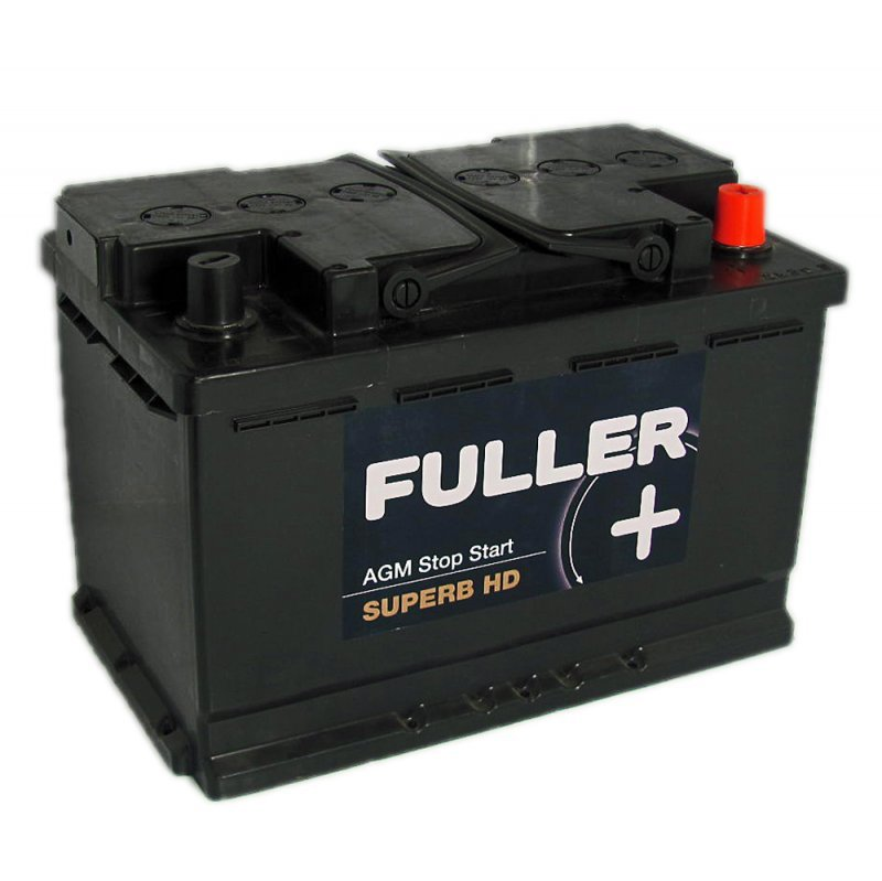 fuller superb car battery agm stop start 096 70ah 760a county battery free next day delivery. Black Bedroom Furniture Sets. Home Design Ideas