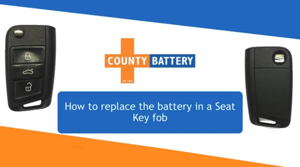 audi key fob replacing battery
