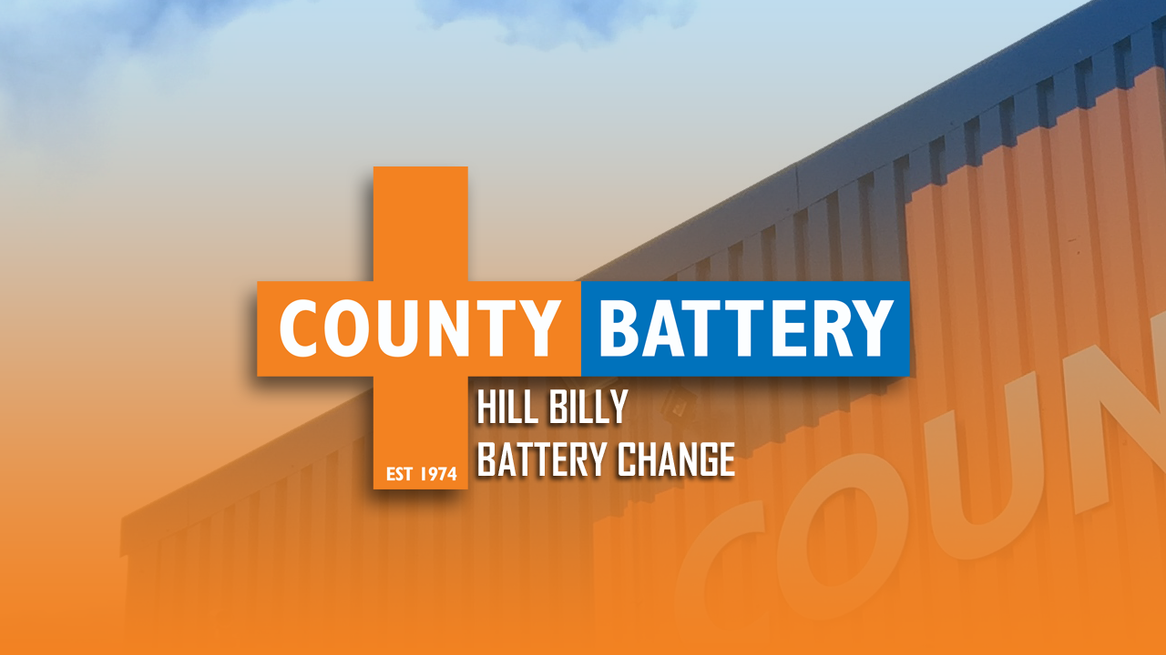 County Battery Services show how to replace the battery in a