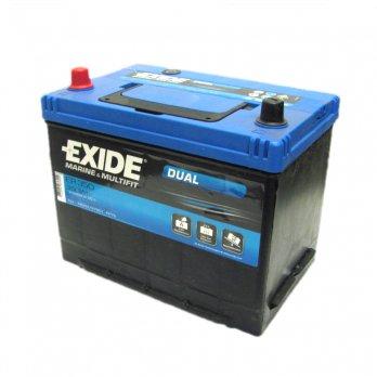 Exide ER350 Dual Leisure Battery 80Ah 12V