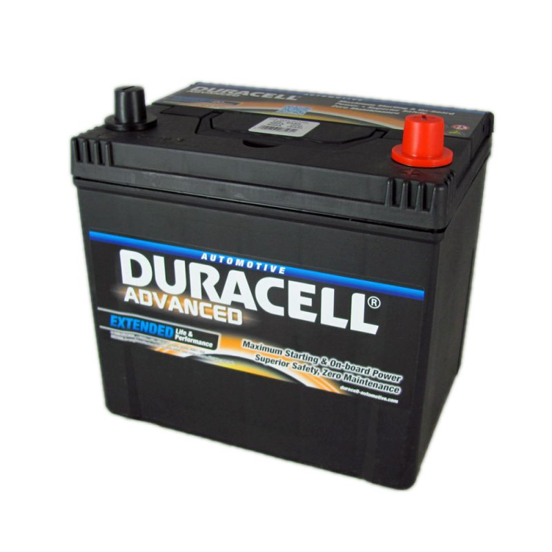 Duracell Advanced Car Battery 005 DA60, Buy Online From