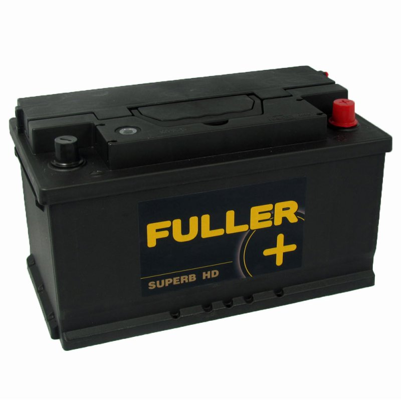 fuller superb car battery 110 12v 80ah 720a county battery buy online today county battery. Black Bedroom Furniture Sets. Home Design Ideas
