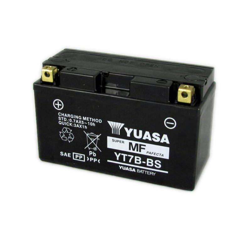 Yuasa Motorcycle Battery Yt7b Bs 12v 6 5ah From County